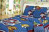 Детский полуторный комплект Щенячий патруль синий, бязь, хлопок