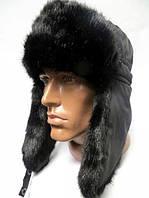 Мужская зимняя шапка-ушанка Головные уборы мужские