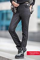 Женские теплые штаны