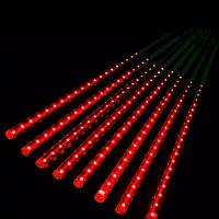 Гирлянда Метеоритный дождь «Тающие Сосульки» LED, 50 см красная 3 м