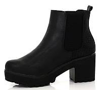 Модные женские ботинки на осень