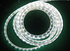 Светодиодная лента 220В 60LED IP65 герметик силикон (Премиум) Белая