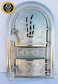 Пічна дверцята зі склом Тростина