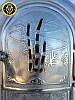 Печная дверца со стеклом Трость, чугунные дверки для печи и барбекю, фото 3