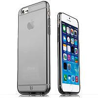 Чехол силиконовый iPhone 6G/6S (4.7) дымчатый