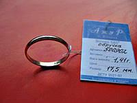 НОВОЕ Обручальное КОЛЬЦО 17.5  размер 1.41 грамма Золото 585 пробы, фото 1