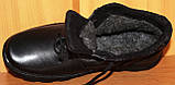 Мужские зимние ботинки черные на шнурках от производителя черные модель АМ200, фото 5
