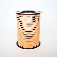Лента персиковая 0,5 см х 250 ярдов