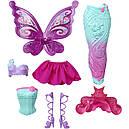 Лялька Барбі Перевтілення Принцеса, Русалка, Фея Метелик Barbie Fairytale Dress DHC39, фото 4