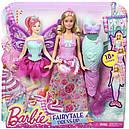 Лялька Барбі Перевтілення Принцеса, Русалка, Фея Метелик Barbie Fairytale Dress DHC39, фото 5