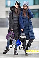 Зимняя куртка-пальто с капюшоном