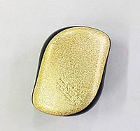 Расческа Tangle Teezer Compact Styler золотая с блестками