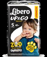 Подгузники-трусики Libero Up&Go Maxi Plus 5 Mega Pack (10-14 кг) 48 шт.