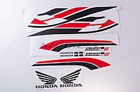 Наклейки (набор)   Honda    (58x12см)   (#newA)