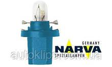 Лампа с патроном 12V 1,2W цоколь- BX8,5d щиток приборов NARVA 17029