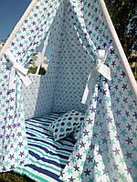 """Детский игровой домик, вигвам, палатка, шатер, шалаш """"Морские звезды"""", фото 1"""