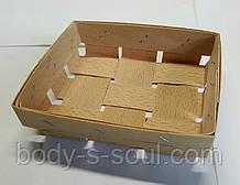 Кошик з букового шпону розмір 115*90*25 мм