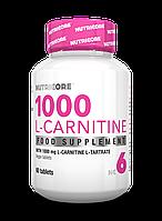 Nutricore 1000 L-Carnitine 60caps