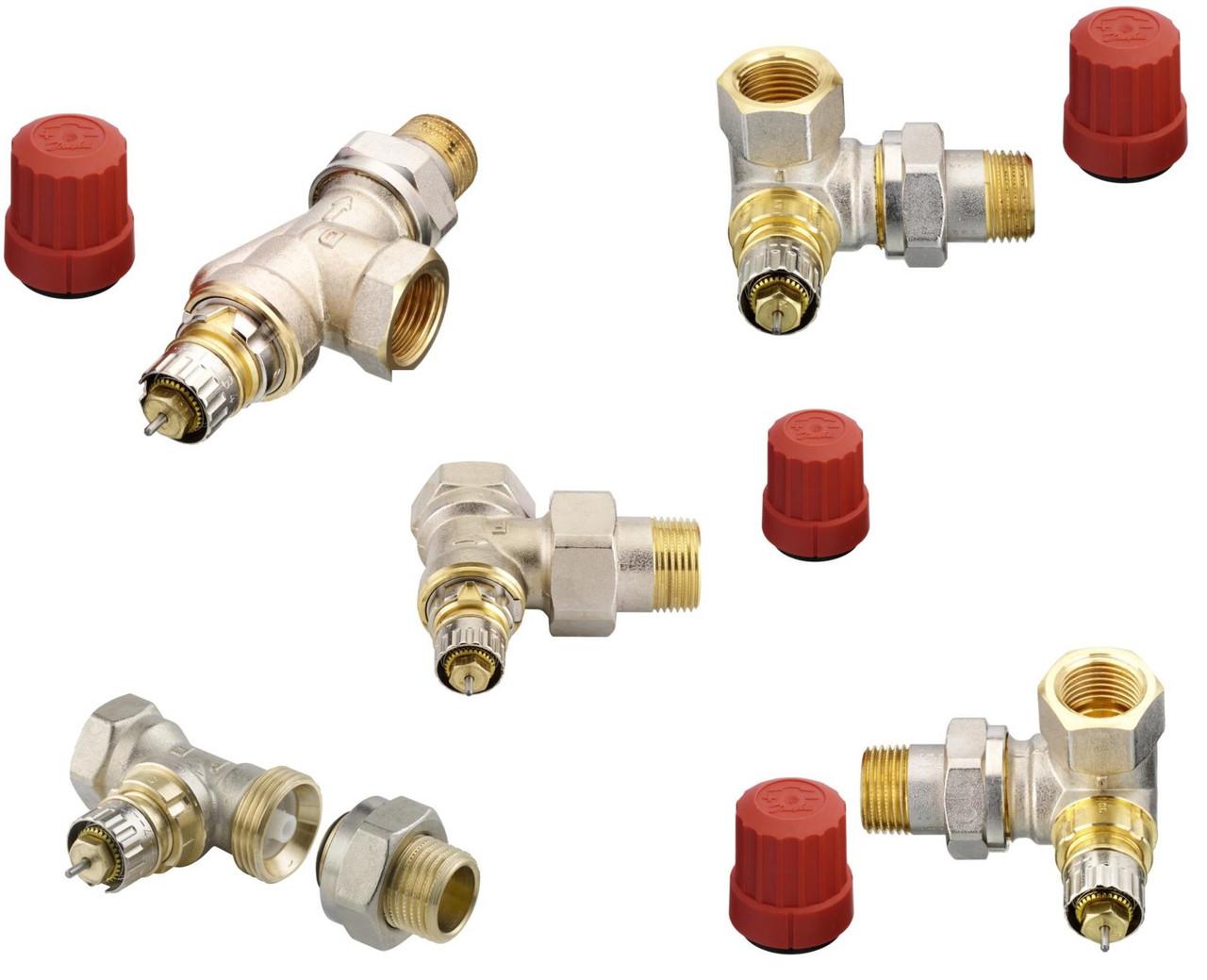Клапан терморегулирующий RA-N для двухтрубных систем отопления