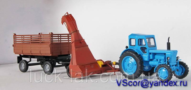 Модель КИР 1,5 Косилка измельчитель масштаб 1/43, фото 1