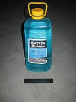 Омыватель стекла зим. Мaster cleaner -20 Морск. бриз 4л 0-м-ы-в-а-т-е-л-ь