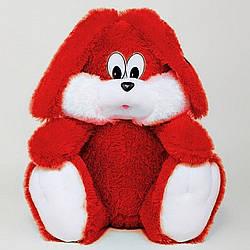 Мягкая Игрушка: Зая Сидячий, 35 см, Красный
