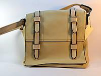 Красная женская сумка на плечо М-381-5