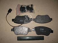 Колодка тормозной FIAT PUNTO передний (Производство TRW) GDB1654