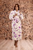 Теплый женский домашний халат Уютная Линия
