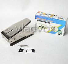 Micro + Nano SIM Cutter (Резак для сим карт 2 в 1), фото 2