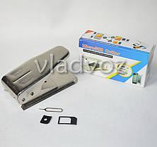 Micro + Nano SIM Cutter (Резак для сим карт 2 в 1), фото 3