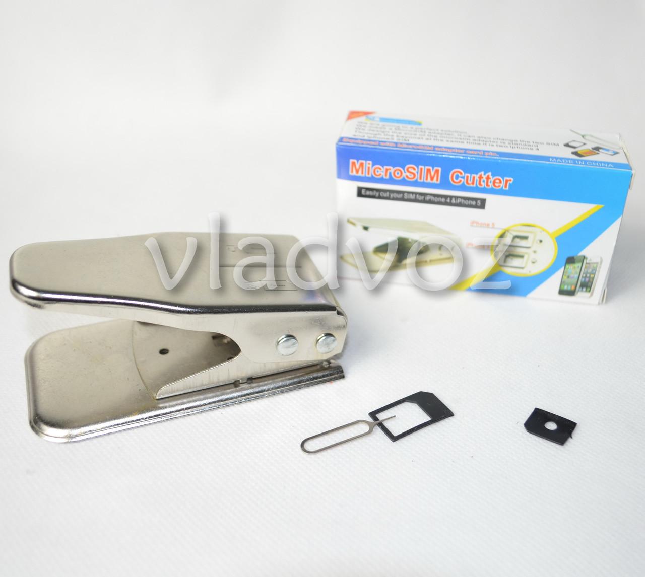 Micro + Nano SIM Cutter (Резак для сим карт 2 в 1)