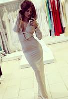 Вечернее платье длинное