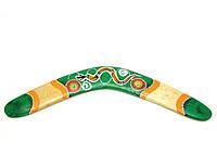 Бумеранг расписной двухсторонний (4 цвета)