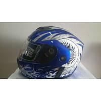Мотошлем FGN Helmet 5003, трансформер с очками, flip-up