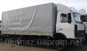 Бортовой-тентованный МАЗ-437041-261
