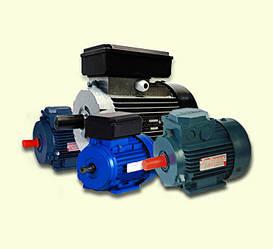 Однофазные электродвигатели (220 В)