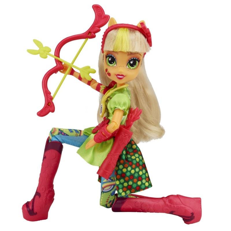 "My Little Pony Equestria Girls AppleJack, Friendship Games ""Sporty Style""( Эплджек)"