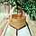 Лукошко из букового шпона с ручкой (110*110*90 мм) КП-21, фото 2