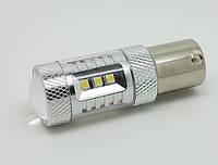 Светодиодная автолампа 1157 - P21/5W - BAU15d, 15W (560Lm) Original Samsung LED chip (SMD2323) двухконтактная