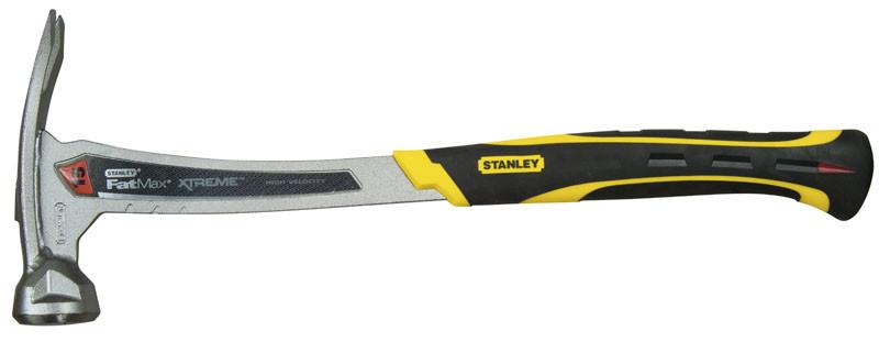 "Молоток 425 грамм ""Fatmax® Xtreme™ Welded Nailing Rip Claw"" c прямым гвоздодером  STANLEY XTHT1-5112"
