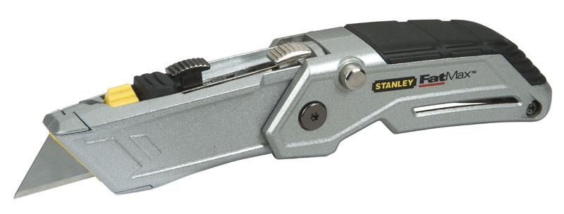 """Нож 19мм трапеция 180мм складной """"FatMax® Folding Twin-blade"""" с двумя выдвижными лезвиями.  STANLEY"""