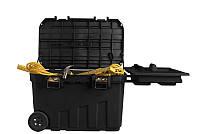 """Инструментальный ящик на колесах """"Mobile Job Chest"""" с металлическими замками STANLEY 1-92-978"""