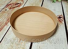 Тубус з букового шпону кр-2 , діаметр 145*30 мм, без кришки