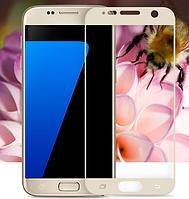 3D стекло для Samsung Galaxy S7 SM-G930 на весь экран White
