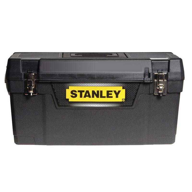 """Ящик инструментальный """"STANLEY"""", 400 x 209 x 183 мм (16""""), пластмассовый, с металлическими замками."""