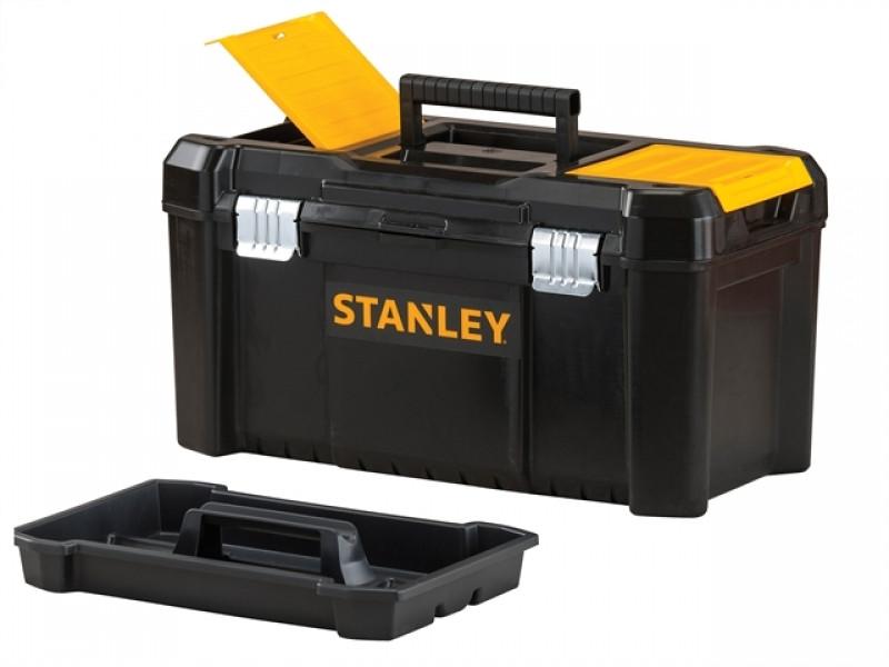 Ящик инструментальный «ESSENTIAL TB» пластмассовый 48 x 25 x 25 см металич.замок