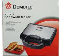 Гриль бутербродница тостер Domotec DT-1012
