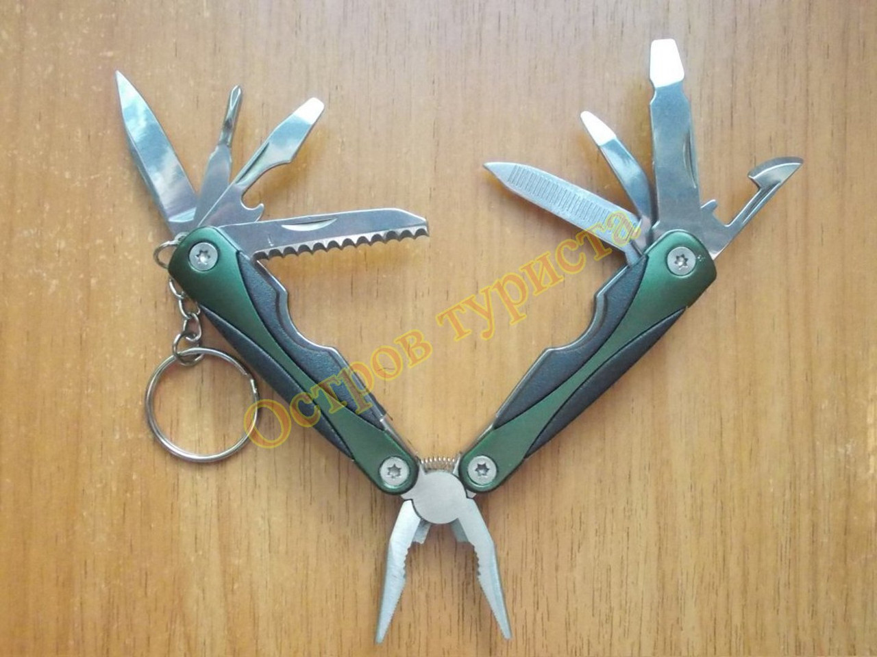 НОЖ  Multi Tool 096 темнозеленый