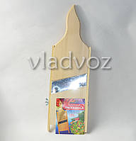 Шинковка деревянная для капусты, терка нож